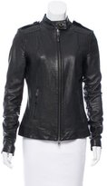 Rachel Zoe Fitted Leather Jacket