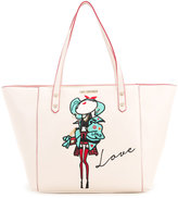 Love Moschino doll patch shopping bag - women - Polyurethane - One Size