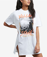 Volcom Juniors' Cotton Slash Town T-Shirt Dress