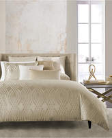 Hotel Collection Dimensions Champagne Full/Queen Duvet Cover, Created for Macy's Bedding