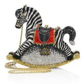 Judith Leiber Toby Crystal Rocking Horse Minaudiere