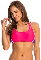 Reebok Solids Natasha Sports Bra Bikini Top 8143631