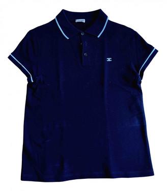 Celine Black Cotton Polo shirts