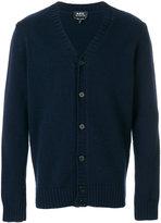 A.P.C. buttoned V-neck cardigan