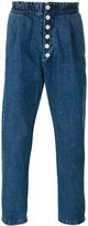 Sunnei button up denim trousers - men - Cotton - L