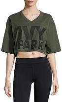 Ivy Park Logo Crop T-Shirt
