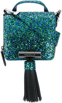 Kenzo fringed shoulder bag - women - Cotton/Leather/PVC/rubber - One Size