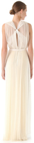 J. Mendel Hand Pleated Gown