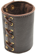 Heather Gardner - Leather Lace Up Cuff