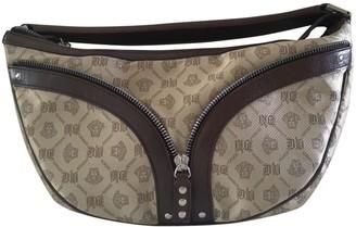 Versace Gold Cloth Handbags