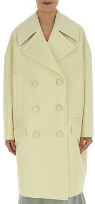 Givenchy Double-Breasted Oversize Coat
