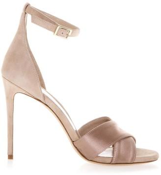 Aldo Castagna Powder Kira Sandals In Leather
