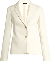 The Row Malchoy stretch-crepe blazer
