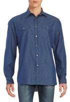 Brioni Long Sleeve Button-Down Shirt