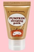 Too Cool For School Pumpkin Sleeping Pack Overnight Facial Mask