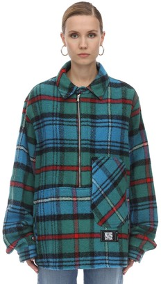 we11done English Check Anorak Shirt