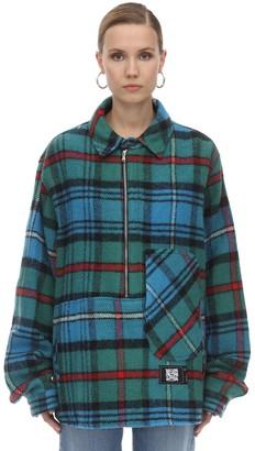 we11done We11 Done English Check Anorak Shirt
