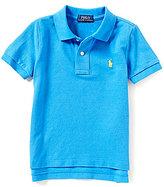 Ralph Lauren Little Boys 2T-7 Short-Sleeve Solid Mesh Polo Shirt