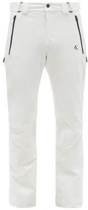 Capranea - Sign Adjustable-waist Technical Ski Pants - White