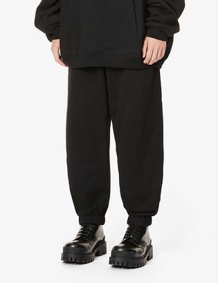 Balenciaga Gym cotton-jersey jogging bottoms