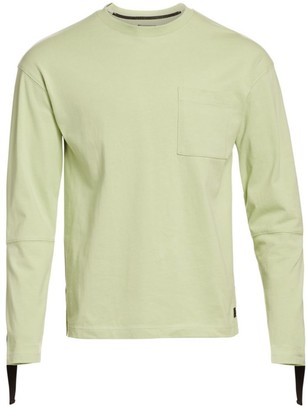 Madison Supply Taped Long Sleeve Panel T-Shirt