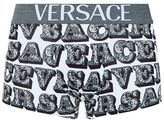 Versace Apollo Font Print Trunks