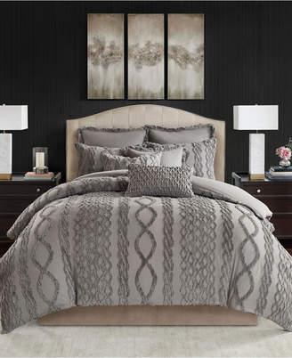 Madison Home USA Signature Aran Isles King 9-Pc. Tufted Chenille Comforter Set Bedding