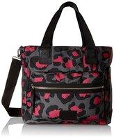 Marc by Marc Jacobs Domo Arigato Printed Leopard Elizababy Weekender Bag