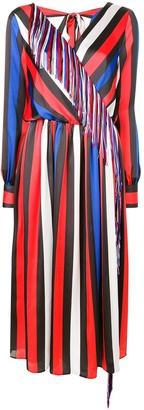 MSGM Fringed Trim Dress