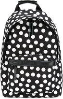 Ami Alexandre Mattiussi polka dot backpack - men - Leather/Polyester - One Size
