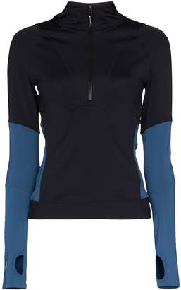 adidas by Stella McCartney panelled sports top