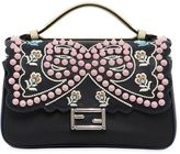 Fendi Micro Double Baguette Studded Bow Bag