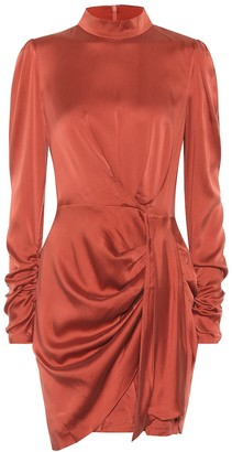 Zimmermann Espionage stretch-silk dress
