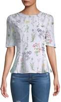 Altuzarra Women's Silk Flared Top