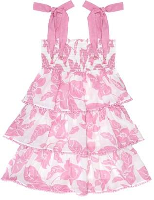 Zimmermann Kids Bells floral cotton dress