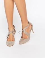 Miss KG Clara Cross Strap Heeled Shoes