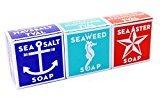 Aster Swedish Dream 3 Pack Mix Set (Sea Salt + Seaweed + Sea Soap Bar 4.3oz USA