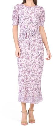 Ryland Puff Sleeve Maxi Dress