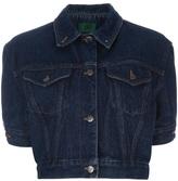 Jean Paul Gaultier Vintage cropped denim jacket