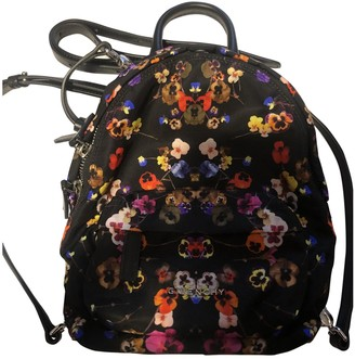 Givenchy Black Cloth Backpacks