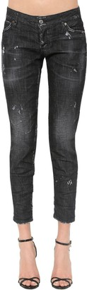 DSQUARED2 Jennifer Black Wash Cotton Denim Jeans