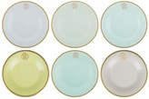 Roberto Cavalli Lizzard Bread/Butter Plates - Set of 6 - Sunrise
