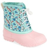 Native Toddler Girl's 'Jimmy' Print Boot