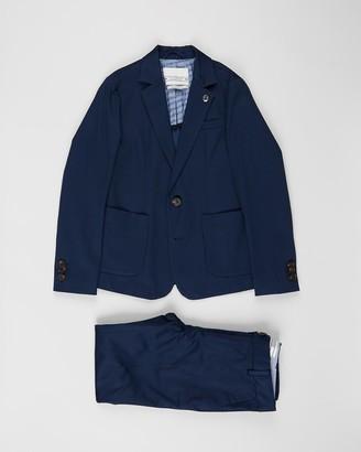 Scotch Shrunk Yarn Dyed Suit - Kids-Teens