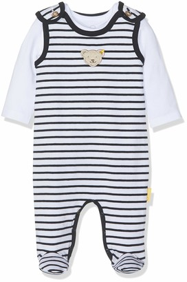 Steiff Baby Boys' Set Strampler + T-Shirt Footies