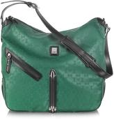 Piero Guidi Every Boly Green Angel Printed Shoulder Bag