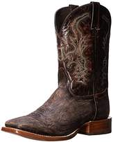 Stetson Men's 11 Inch Wide Square Toe Distressed Riding Boot