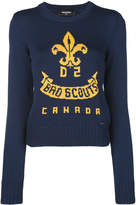 DSQUARED2 bad boy scouts sweater