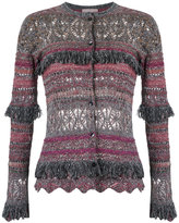 Cecilia Prado knit cardigan - women - Cotton/Acrylic/Lurex/Viscose - G
