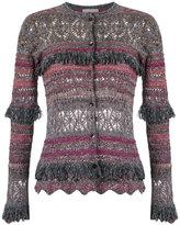 Cecilia Prado knit cardigan - women - Cotton/Acrylic/Lurex/Viscose - PP